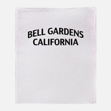 Bell Gardens California Throw Blanket