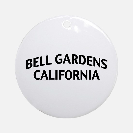 Bell Gardens California Ornament (Round)