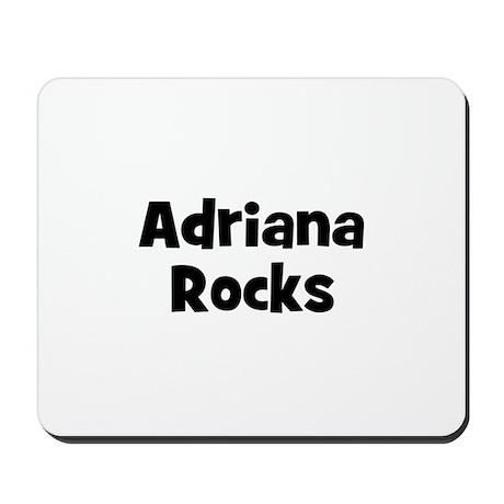 Adriana Rocks Mousepad