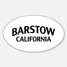 Barstow California Sticker (Oval)