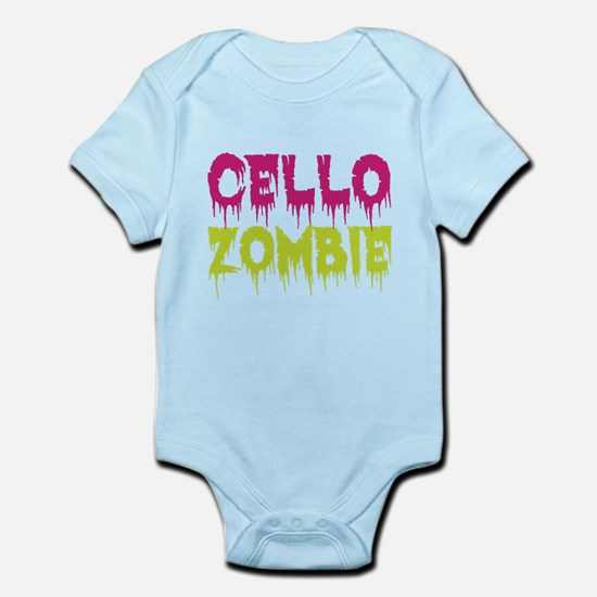 Cello Zombie Infant Bodysuit