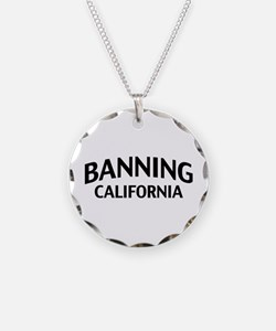 Banning California Necklace