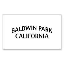 Baldwin Park California Decal