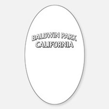 Baldwin Park California Decal