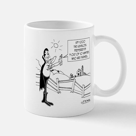 Sun Block For Vampires Mug