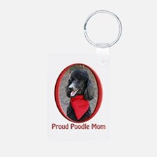 Proud Poodle Mom Keychains