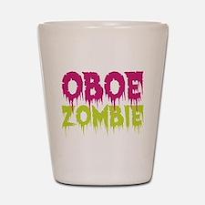 Oboe Zombie Shot Glass