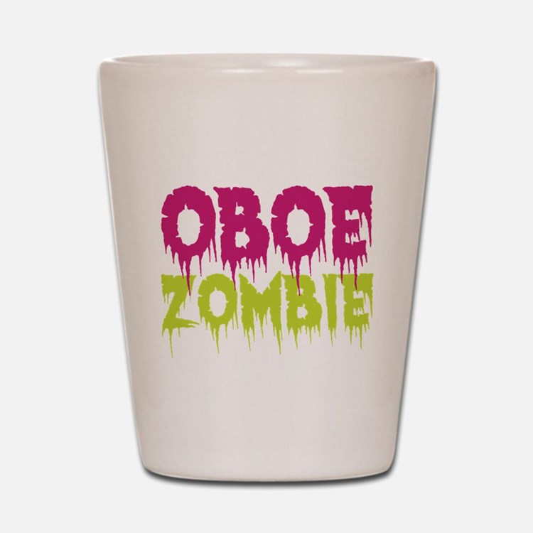 Oboe Zombie Shot Glass