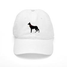 Christmas or Holiday German Shepherd Silhouette Ca