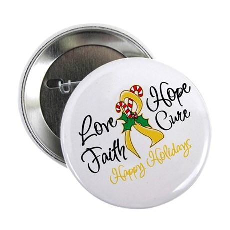 """Holiday Hope Neuroblastoma 2.25"""" Button (10 pack)"""