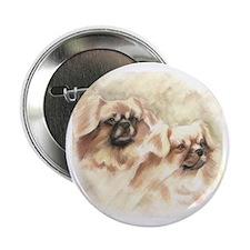 "Tibetan Spaniels 2.25"" Button"