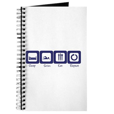 Sleep- Swim- Eat- Repeat Journal