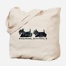 Scottie Squirrel Patrol Terri Tote Bag