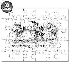 Sheepherding Sissies/Sheltie Puzzle