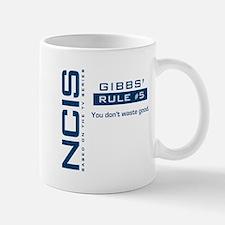 NCIS Gibbs' Rule #5 Mug