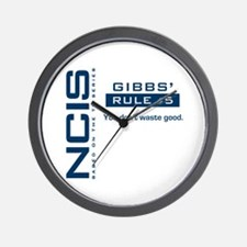 NCIS Gibbs' Rule #5 Wall Clock