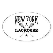 New York Lacrosse Decal