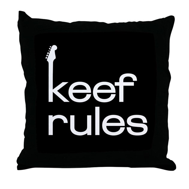 KEEF RULES Throw Pillow by keefrules