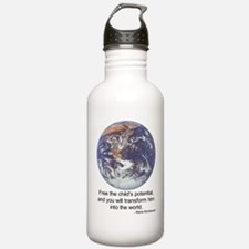 Montessori World Water Bottle