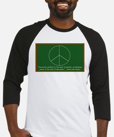 Montessori Peace Baseball Jersey