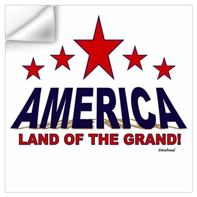 America Land Of The Grand Wall Art Wall Decal