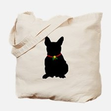 Christmas or Holiday French Bulldog Silhouette Tot