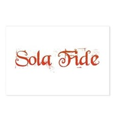 Sola Fide Postcards (Package of 8)