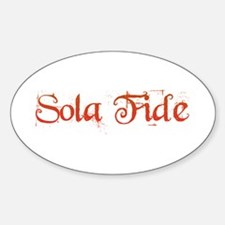 Sola Fide Decal