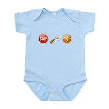 Stop - Hammer - Time Infant Bodysuit