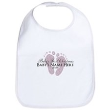 Sweet Footprints - Baby's Fir Bib