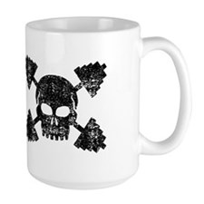 Weightlifting Skull Mug