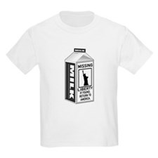 Missing Liberty Milk Carton T-Shirt