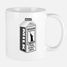 Missing Liberty Milk Carton Mug