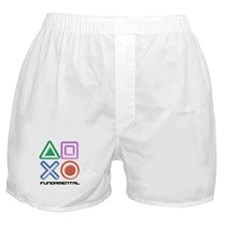 Fundamental Game Symbols Boxer Shorts