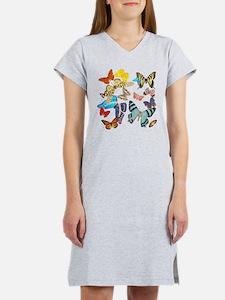 Beautiful Butterflies Women's Nightshirt