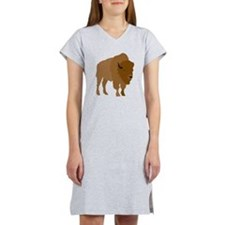 Buffalo Women's Nightshirt