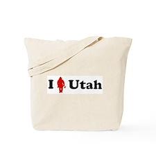 Utah Firefigher Tote Bag