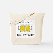 19th Hole Tote Bag