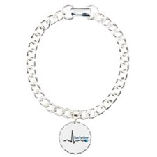 Nurse Practitioner Charm Bracelet, One Charm