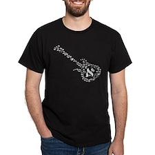Guitar Hebrew T-Shirt