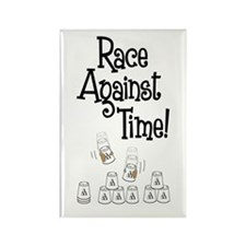 Race! Rectangle Magnet