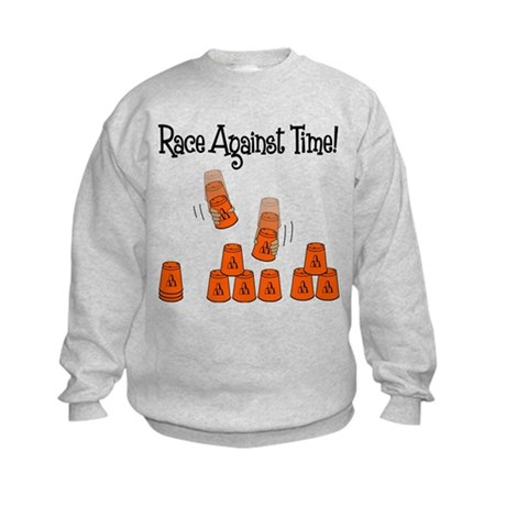 Race! Kids Sweatshirt