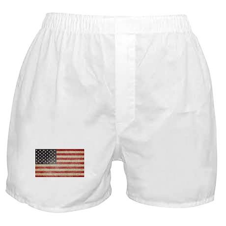 US Faded Flag Boxer Shorts