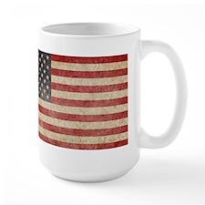 US Faded Flag Mug