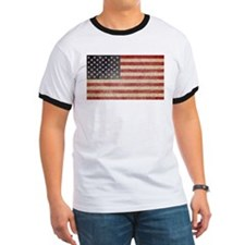 US Faded Flag T