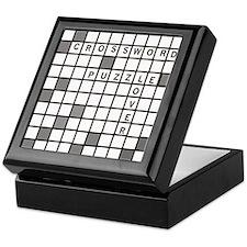 Crossword Puzzle Keepsake Box