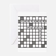Crossword Puzzle Greeting Cards (Pk of 10)
