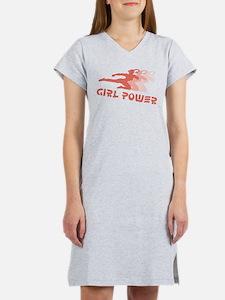 Martial Arts Girl Power Women's Nightshirt