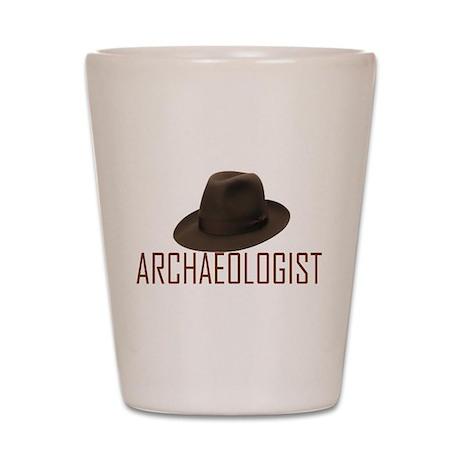 Archaeologist Shot Glass