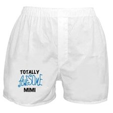 Blue Awesome Mimi Boxer Shorts